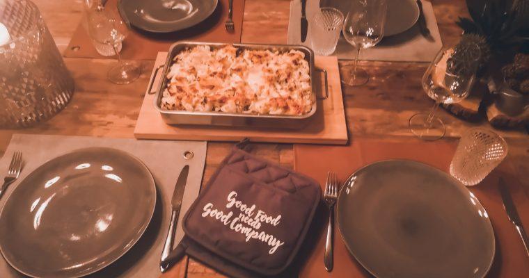 Ovenschotel met bloemkool en gehakt