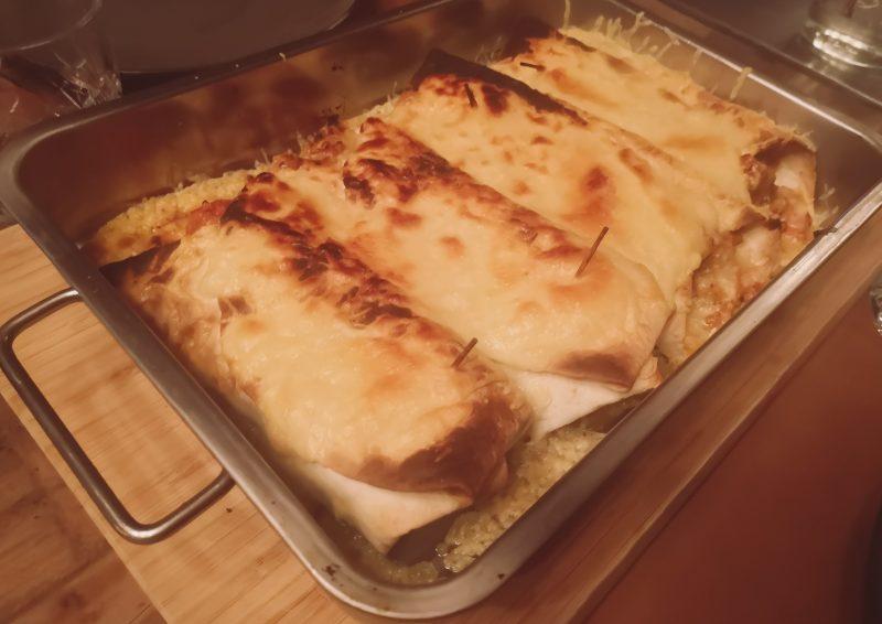 Mexico bij jou thuis met deze enchilada's met pittig gekruid gehakt!