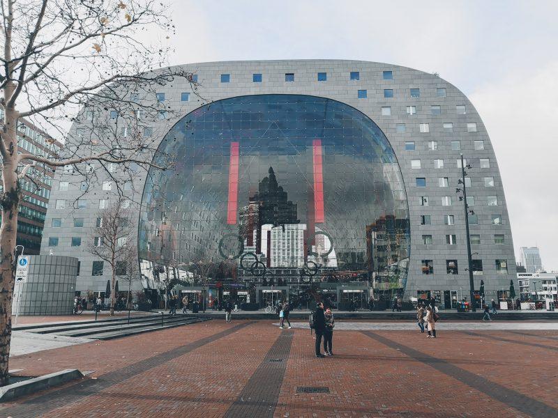 Dé markthal van Nederland bevindt zich te Rotterdam!