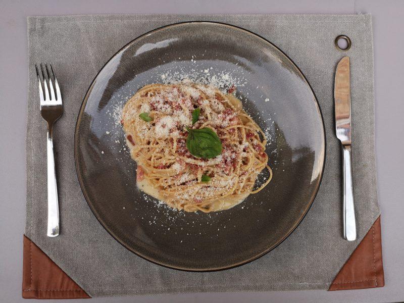 Verwelkom Italië in jouw keuken met deze spaghetti alla carbonara!