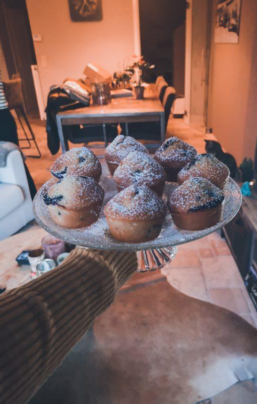 Luchtige blueberry muffins om je vingers bij af te likken!