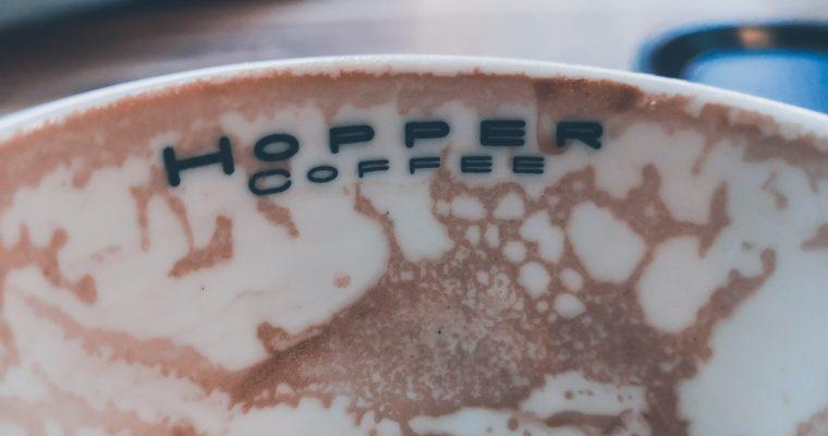 Voorgeproefd de koffie bij Hopper Rotterdam!