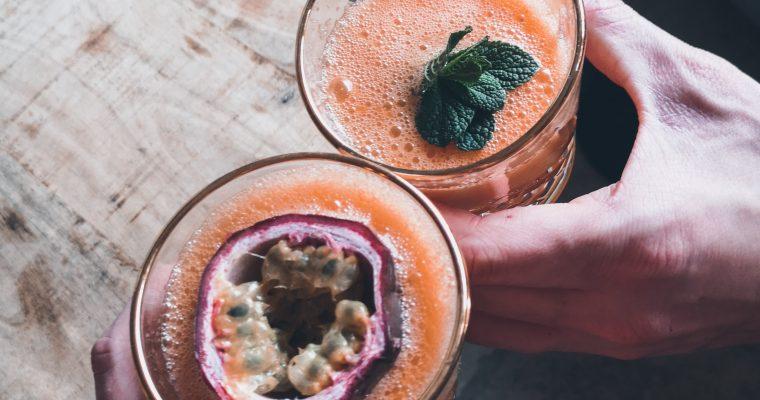Een échte vitamineboost: het appel-wortel-gemberdrankje!