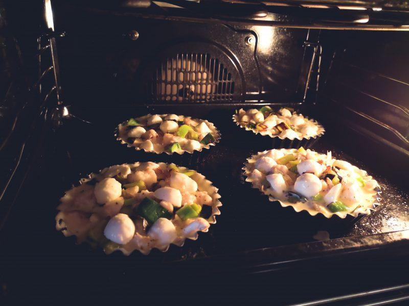 Lunchtip: quiche met prei, bloemkool en mozzarella