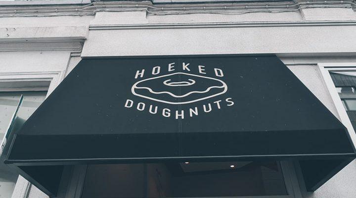Hoeked doughnuts Antwerpen!