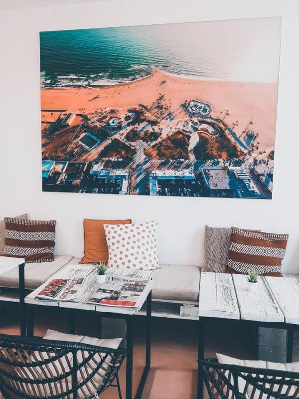 Heerlijk lunchen of koffieleuten bij Venice Beach Wommelgem