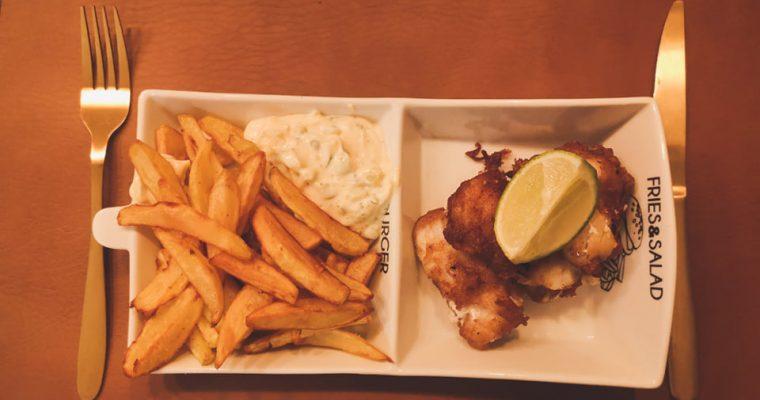 Fingerlicking Fish & chips! Beter dan op restaurant!