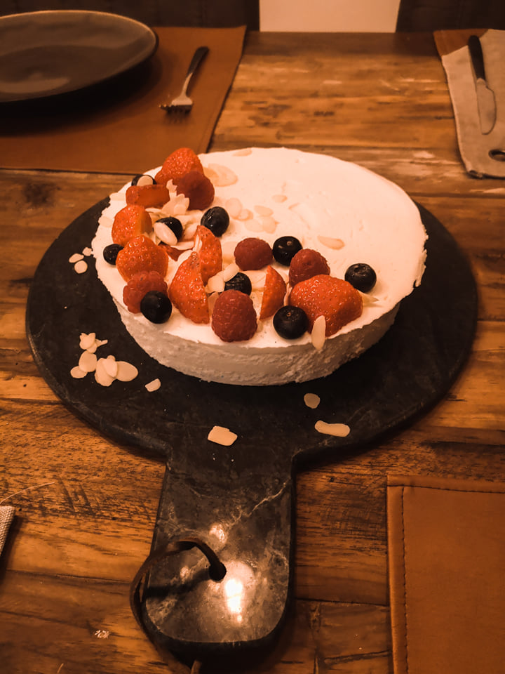 Team no bake cheesecake!