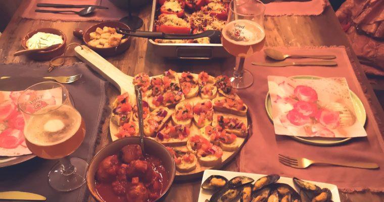 Tapas night – diverse heerlijke gerechtjes om te delen!