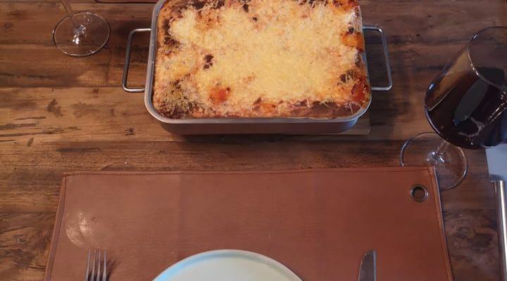 Homemade lasagna – Comfort food