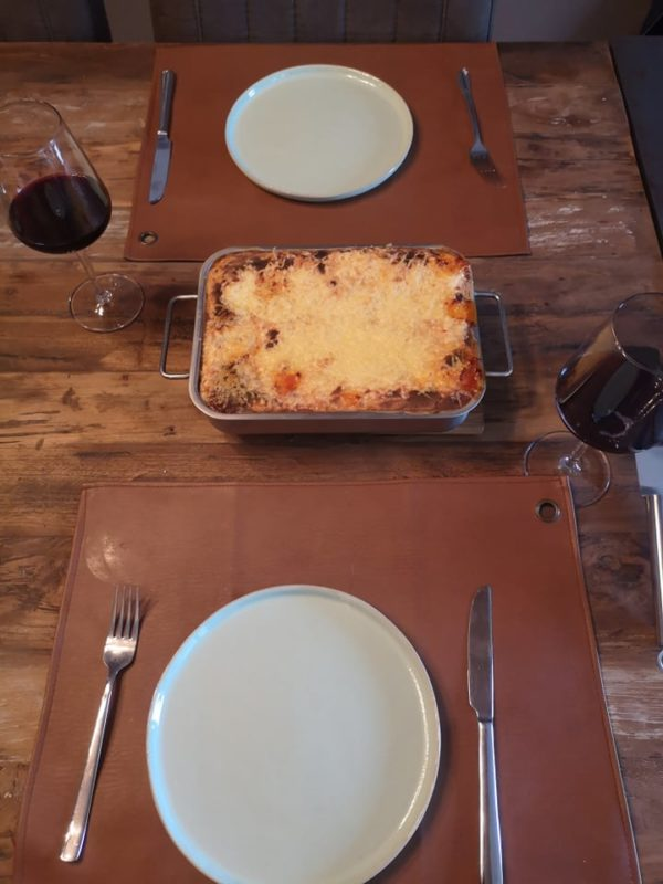 Homemade lasagna – Comfort food