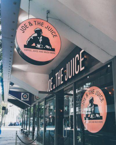 Joe & the juice Londen