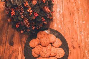 Abrikozen-chocolade koekjes